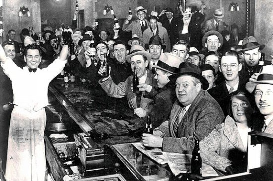 Speakeasy during Prohibition