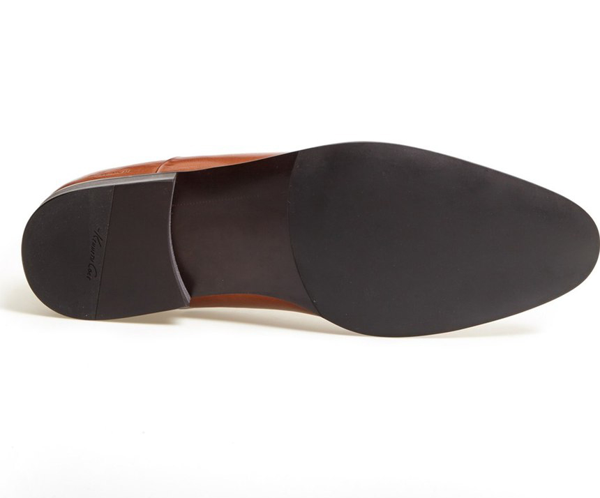 """Rubber sole is glued or """"cemented"""" and impossible to re-sole"""
