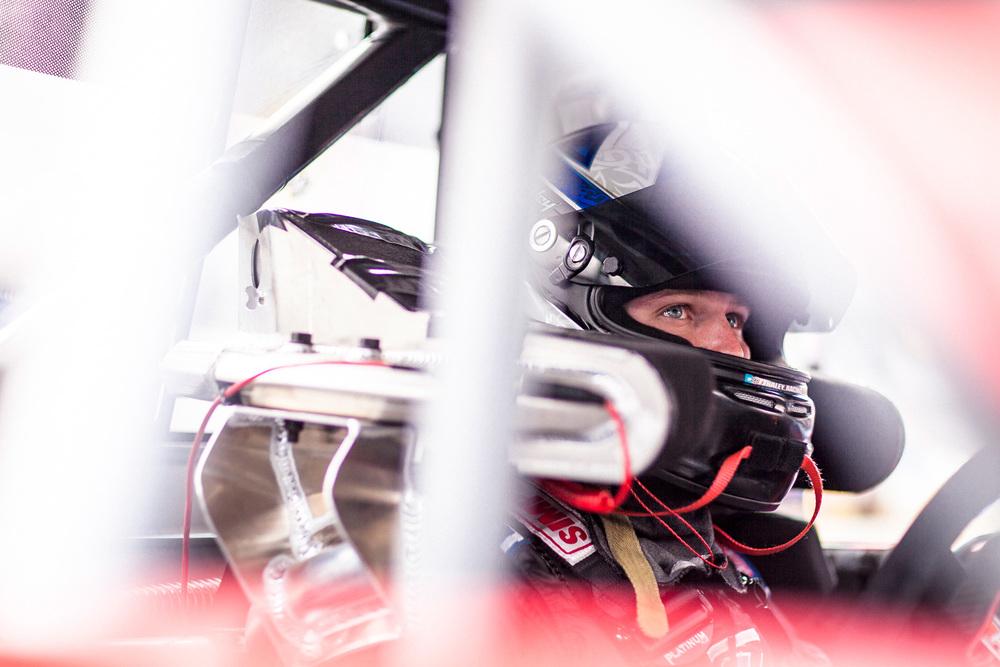 Nascar Driver Portrait