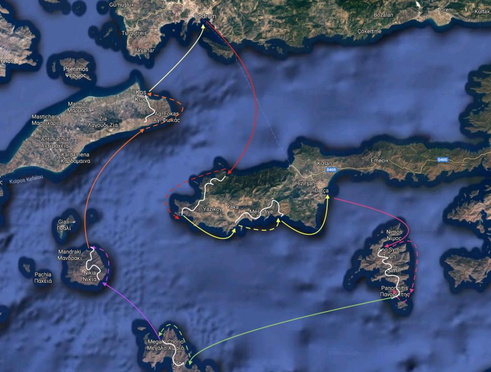 De Turks- Griekse kust... - Een prachtige 8 daagse rondreis langs de mooiste plekjes en eilanden in de Oostelijke Med. Je bent op ontdekkingstocht door het verleden, culinair, cultureel en dat alles op een prachtig zeilschip!
