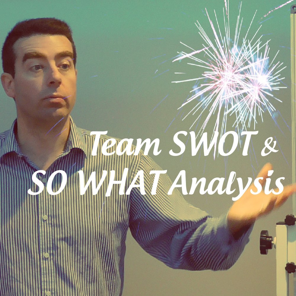 Team SWOT and SO WHAT Analysis