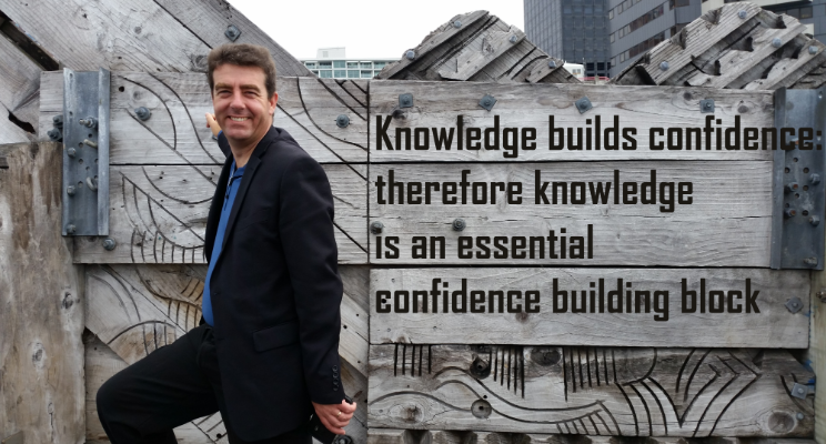 knowledge builds confidence