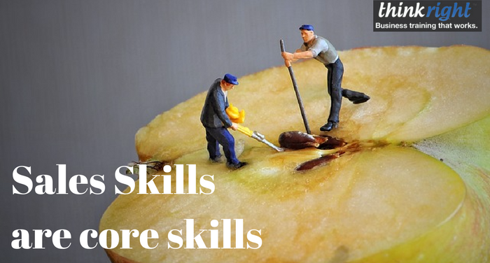 Sales Skills are core skills