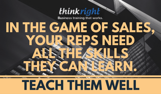 Teach your Reps well
