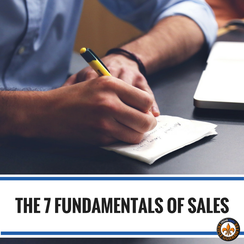The 7 Fundamentals of Sales