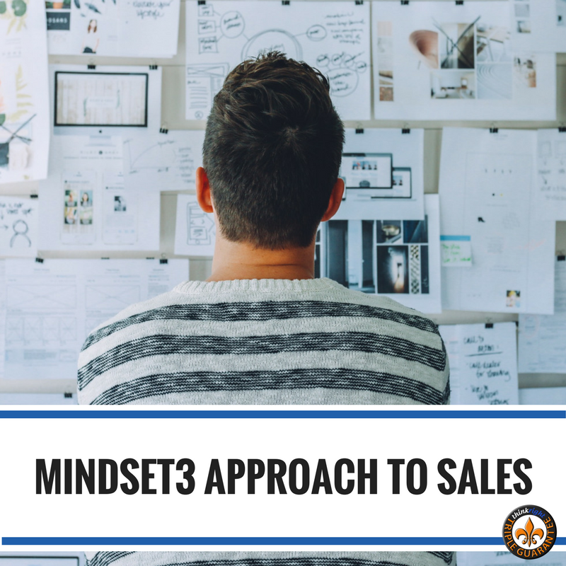 Mindset 3 Approach to Sales