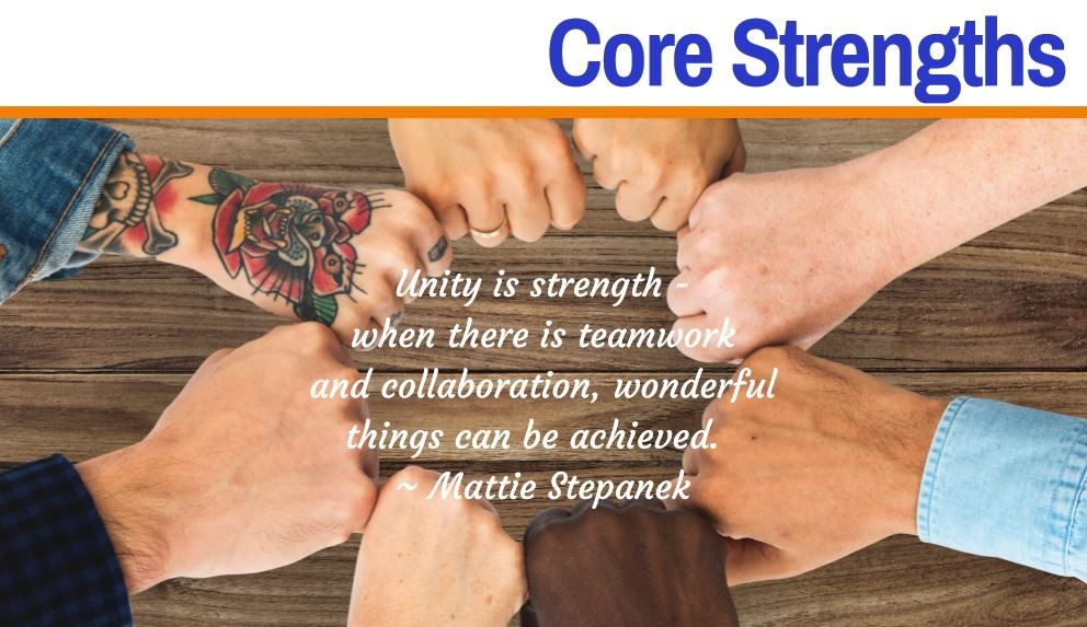 Core Strengths header