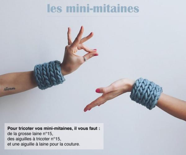 Mini-mitaines