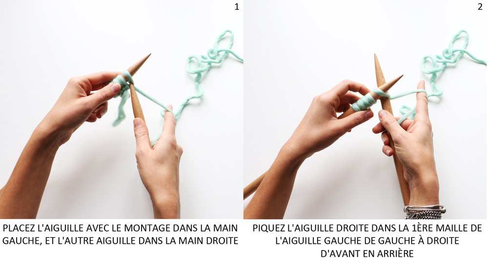 maille endroit
