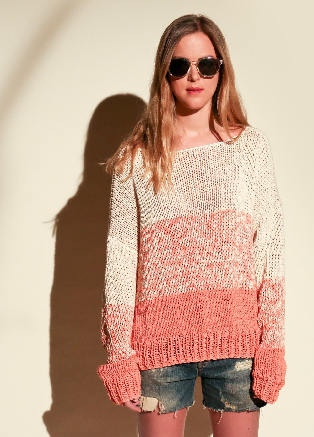 ACADIA SWEATER  Niveau facile