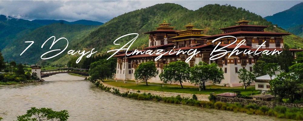 Paveway Explorer Holidays 7 Days Bhutan