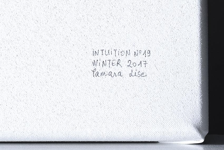 Intuition N°19, 57x150x2cm, detail