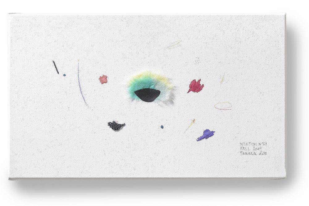 Intuition N°67, 16x27x2cm