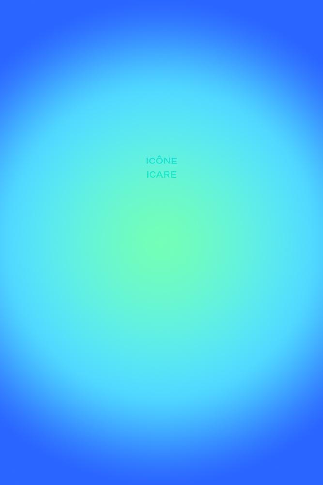 Noème Icône Icare, 80x120x1cm