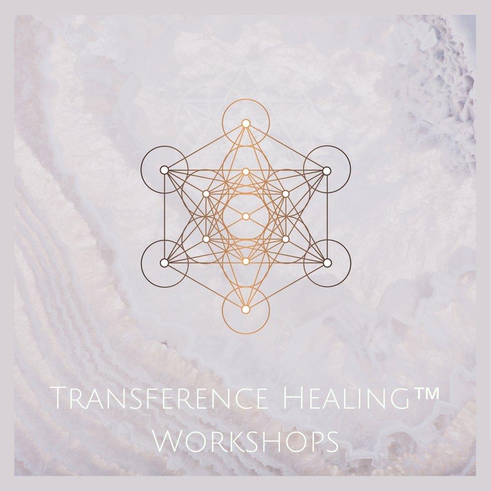 Transference healing  Workshop