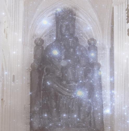 Black Madonna, Sous Terre, Chartres
