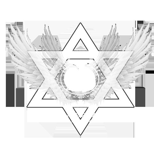 Crystal merkaba grid