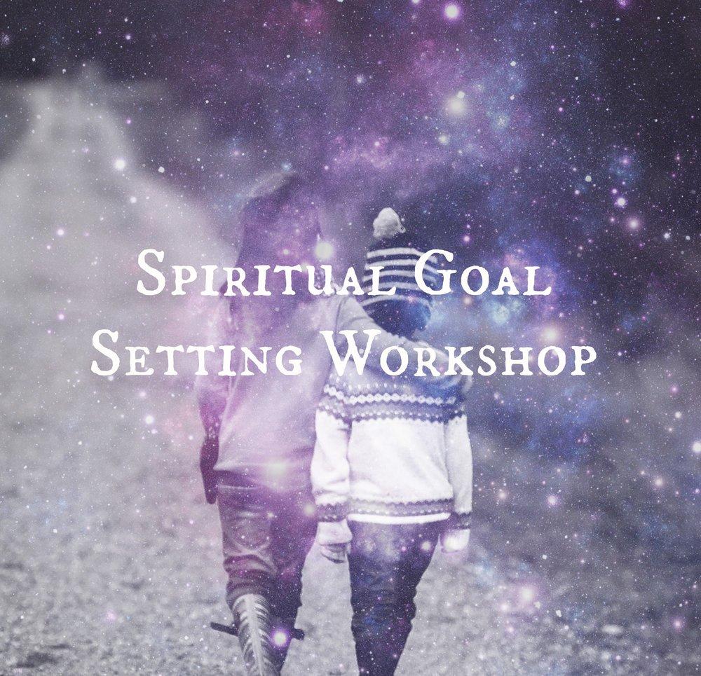 Spiritual Goal Setting - Turn your dreams into reality