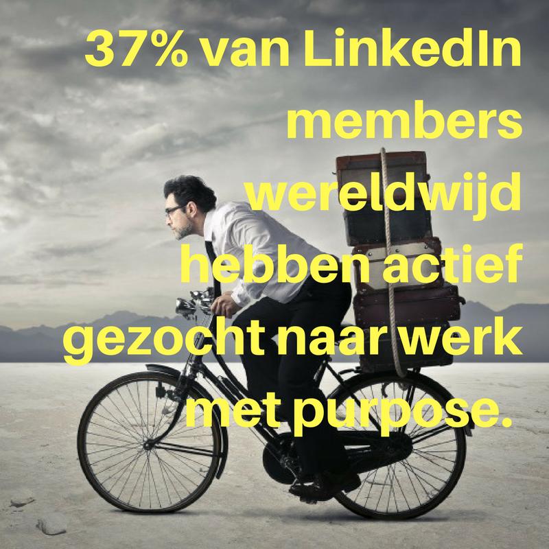 37% van LinkedIn members wereldwijd hebben actief gezocht naar werk waar ze hun purpose in gevonden hebben..png