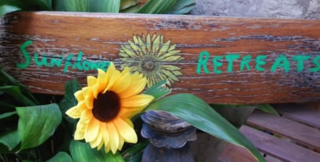 yoga retreat in italy at sunflower retreats
