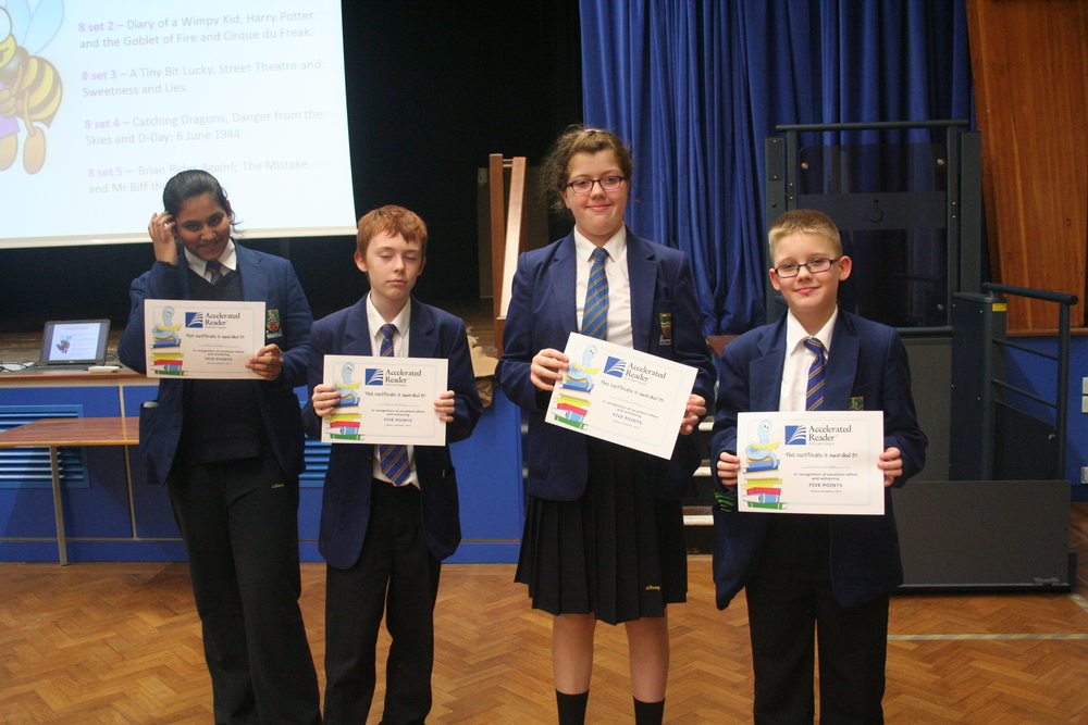Year 8 reading assembly 001.JPG