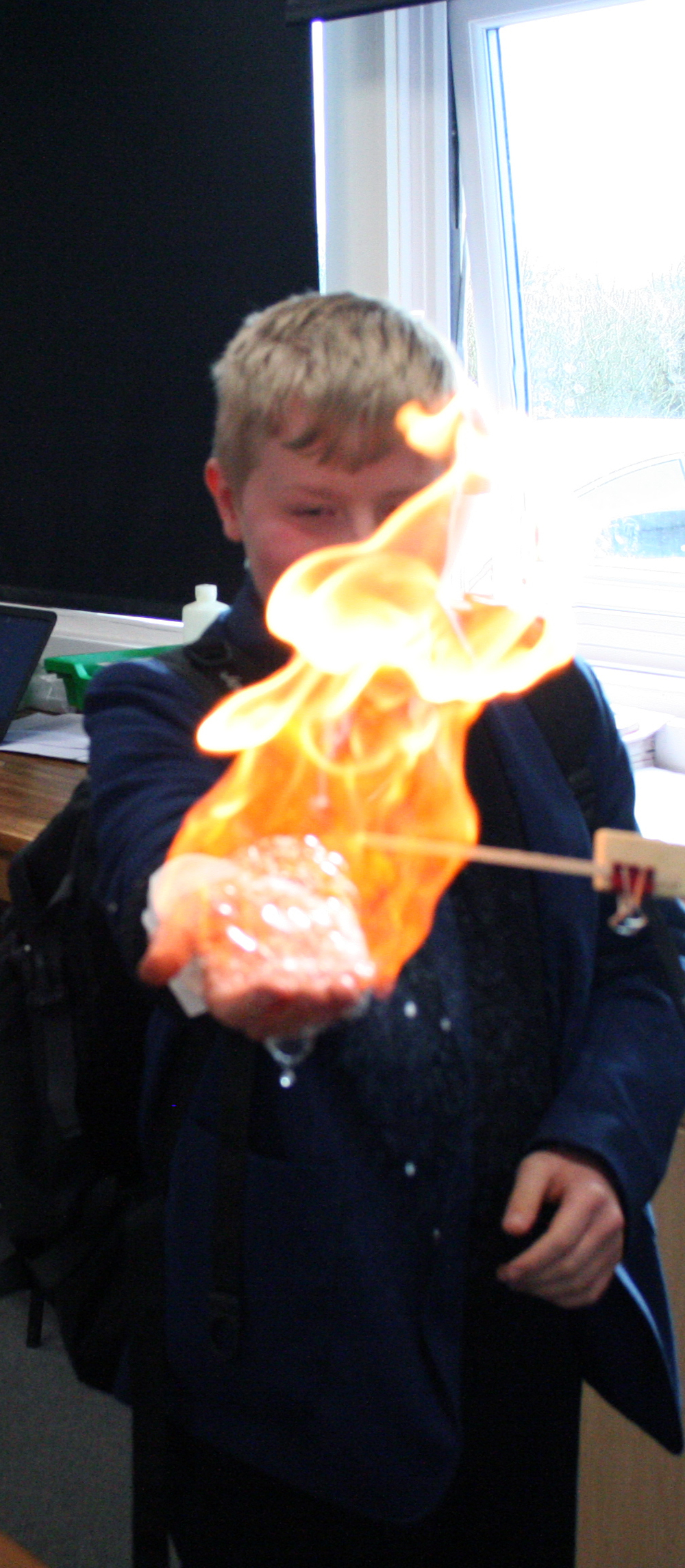 Flaming Hand Experiment 003.JPG