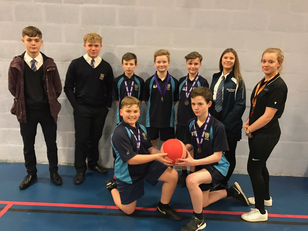 Dodgeball Year 8 Boys Winners