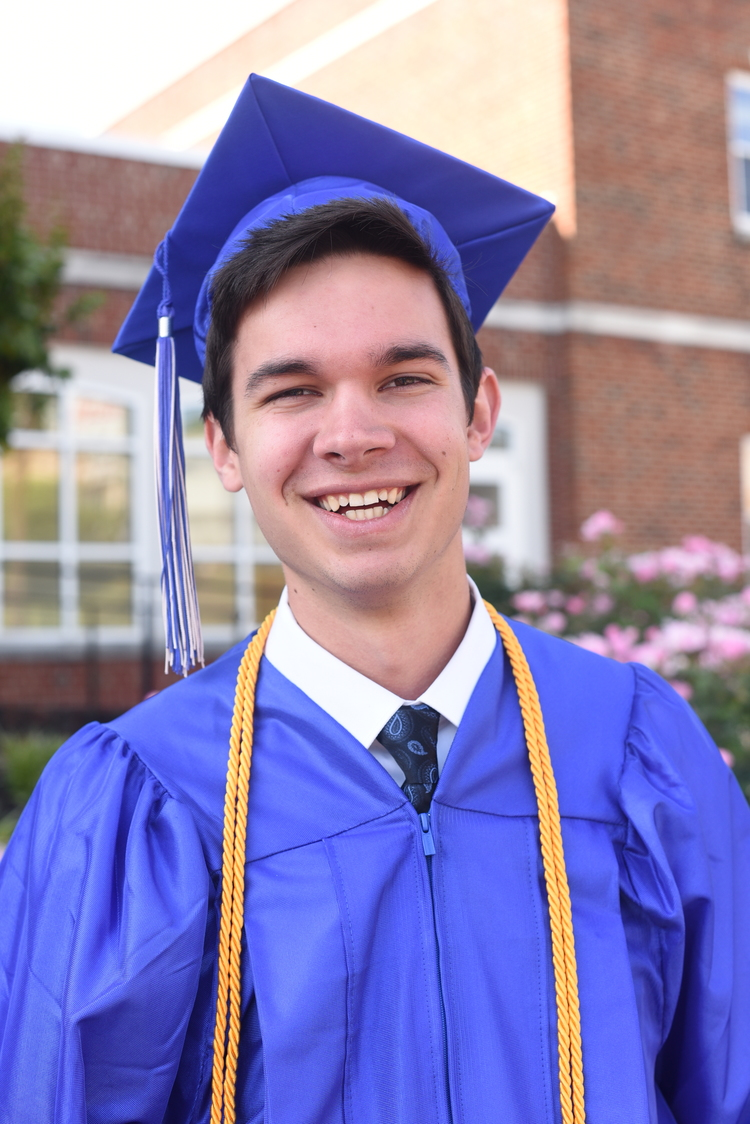 A Cap and Gown for Caleb — Thousand Word Photography