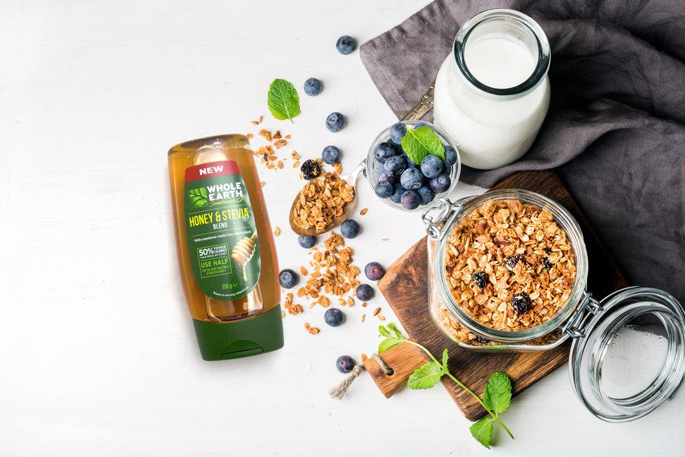 Whole Earth Sweetener Co. Honey & Stevia