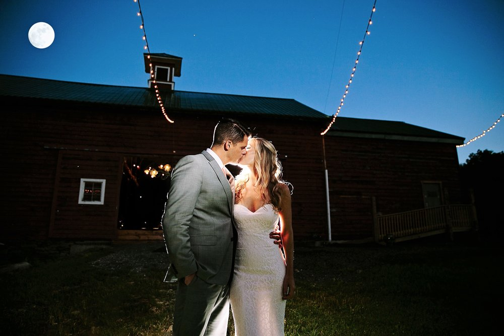 Full moon on wedding night
