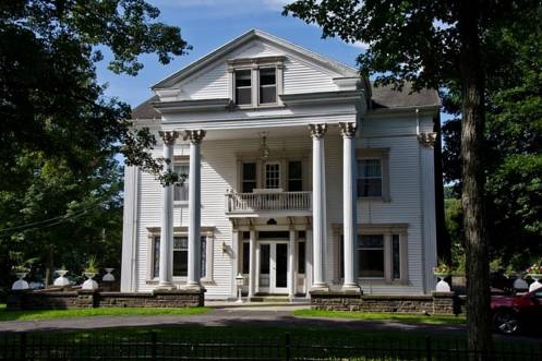 The Colonial B&B   157 W Main St Stamford, NY 12167 (518) 482-4102  Click  here  to book room.  Distance: 10 minutes Capacity: 10 people