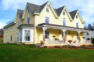 Stamford Gables B&B   42 Main St Stamford, NY 12167 (607) 435-6917 jeankopp@verizon.net www.stamfordgables.com  Click  here  to book room.  Distance: 10 minutes Capacity: 13 people