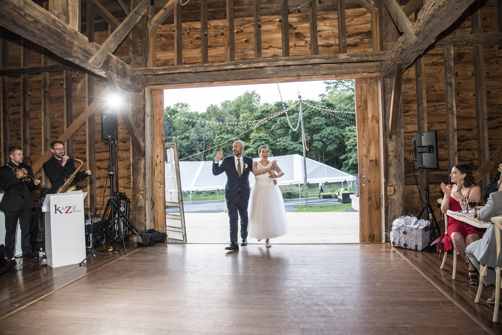 Announcing Mr. and Mrs.