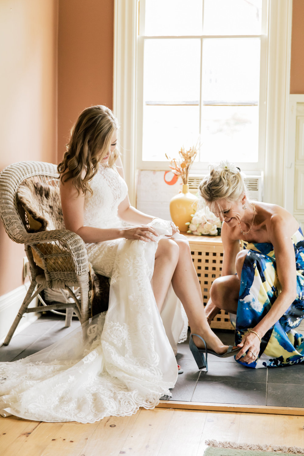 Enjoy your peaceful space with the bridal party