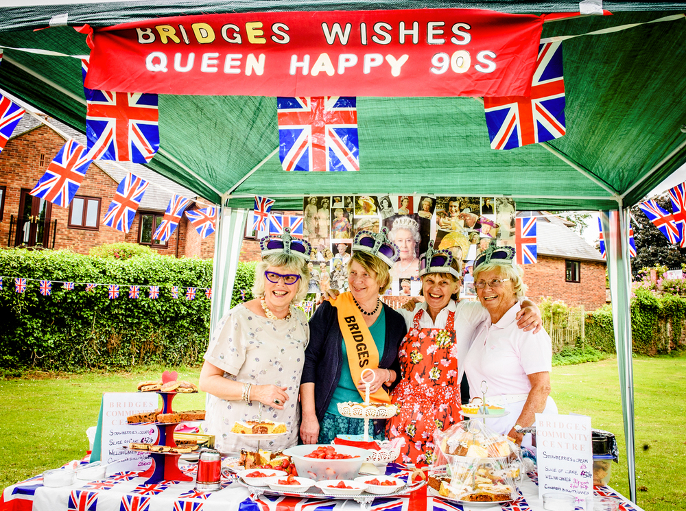 Community Spirit at the Queen's 90th Birthday Picnic!