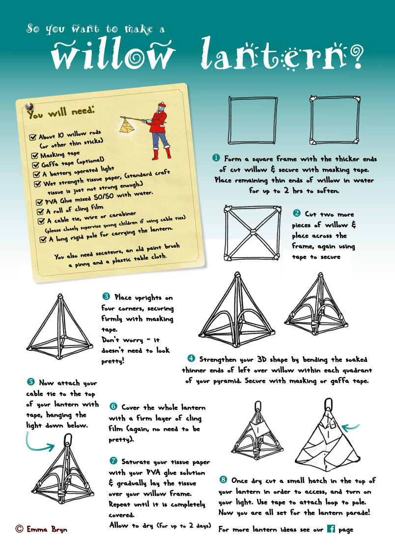 Lantern Making Instructions