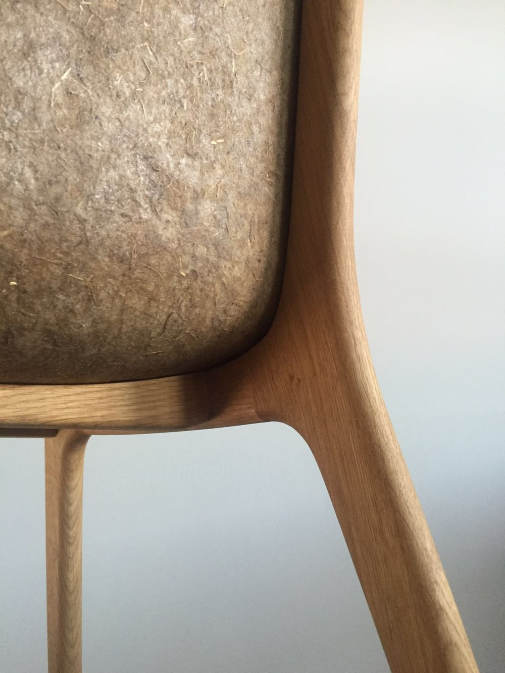 detail flax linum chair