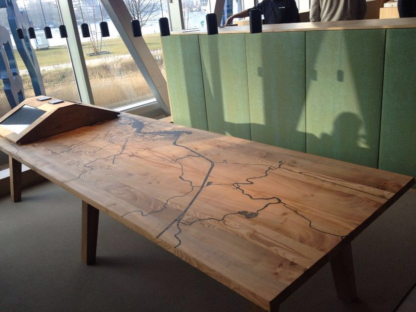 table design headquarter sustainable