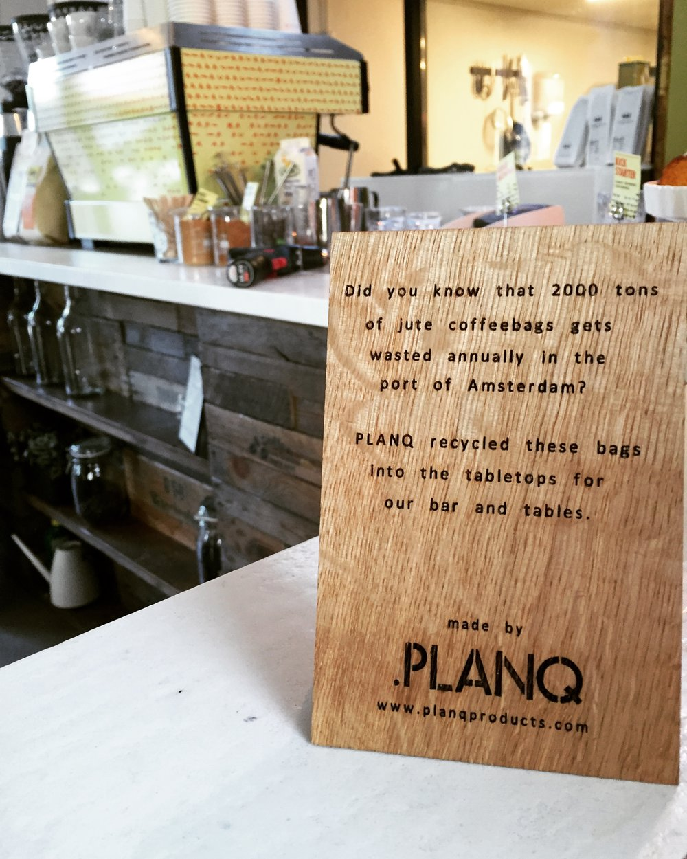 planq biobased meubels interieur ontwerp