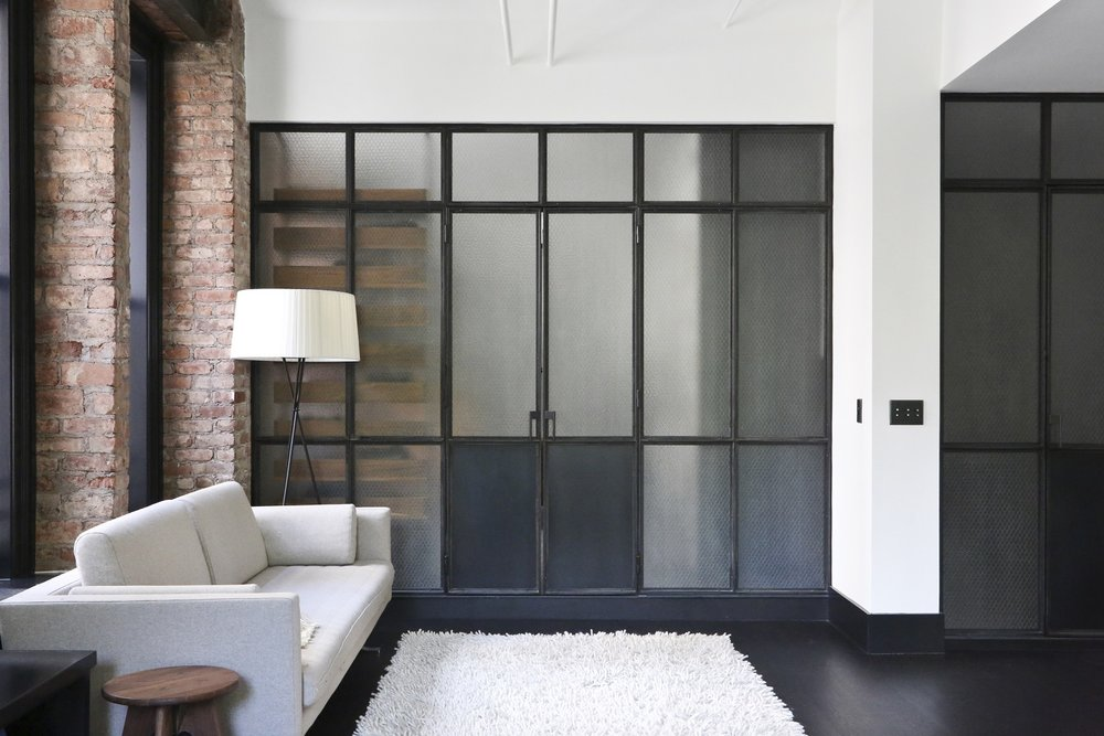 GREAT JONES GLASS & STEEL WALL PARTITIONS
