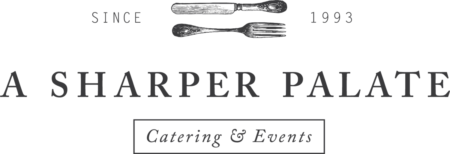 A Sharper Palate Catering & Events logo