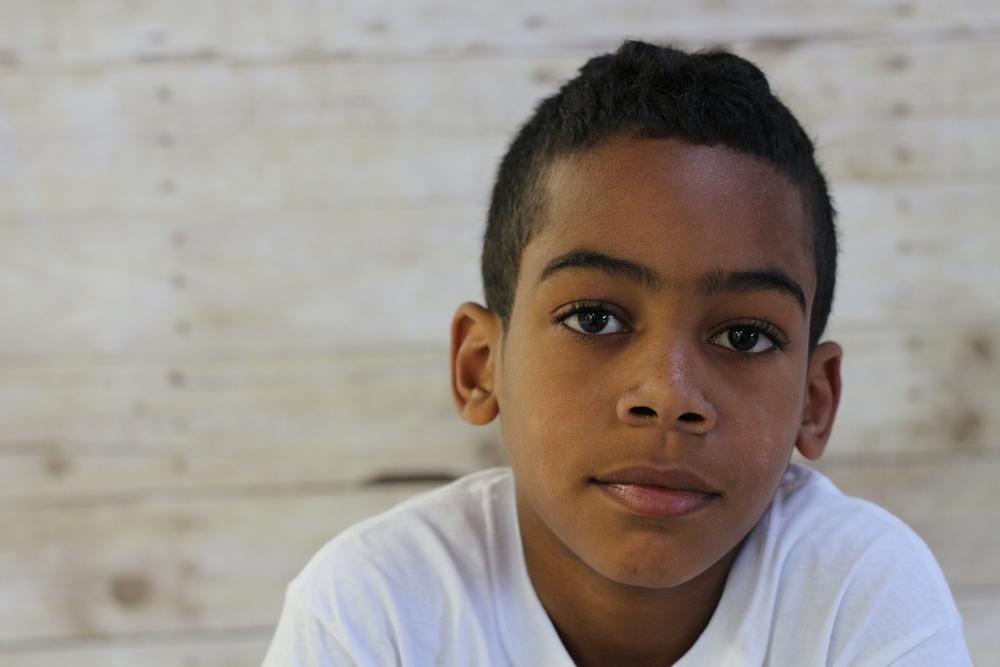 Giovanni, age 9, Bushwick, Brooklyn, NY