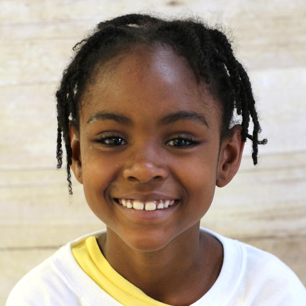 Naima, age 8, Brooklyn, NY