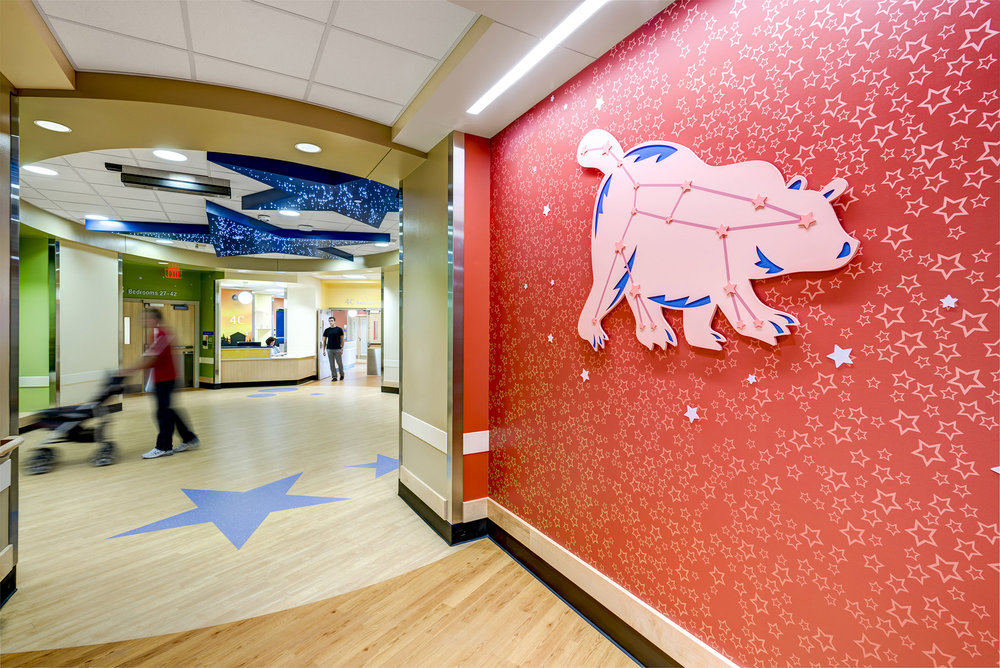 U201cUniverseu201d, The Theme For The 4th Floor Inpatient Expansion Project At  Cincinnati Childrenu0027s Liberty Campus, Was Selected For Its Appeal To  Pediatric ...