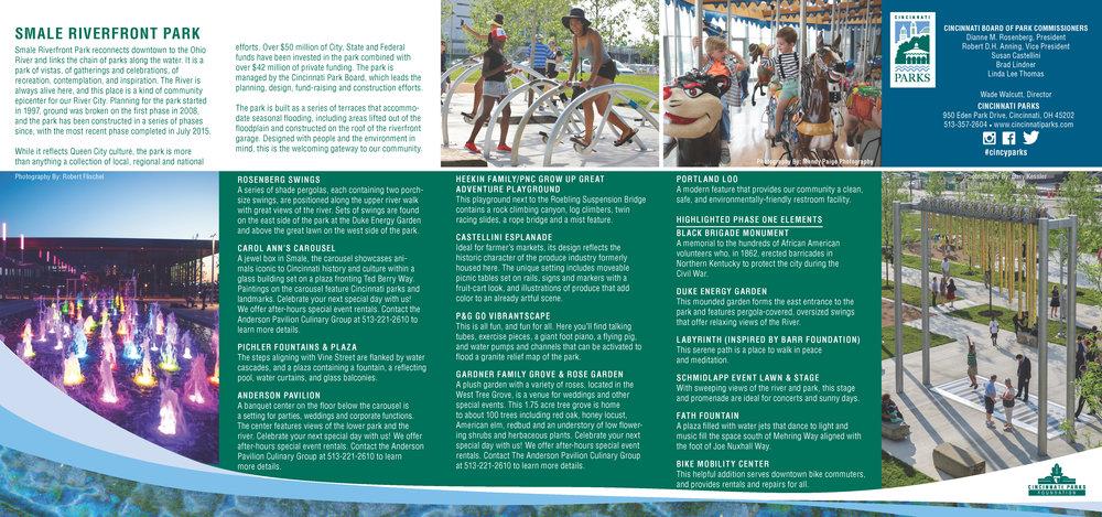 From Cincinnati Parks -  PDF