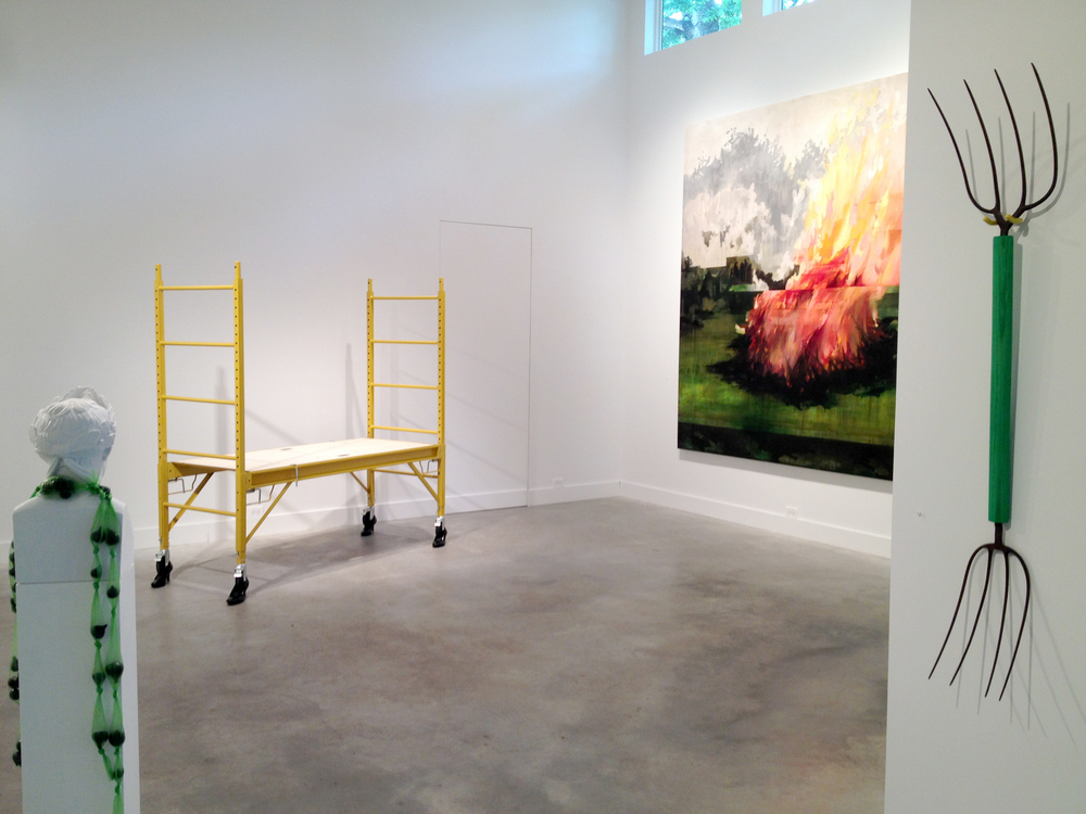 Installation shot at grayDUCK Gallery 2015
