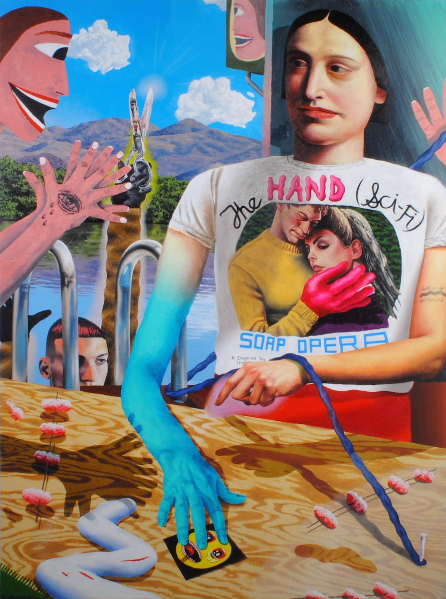 The Hand or the Arm at the Pink Man's Place 2016