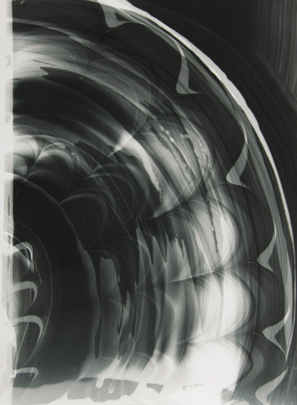 Blind Light 25, unique photogram 2015