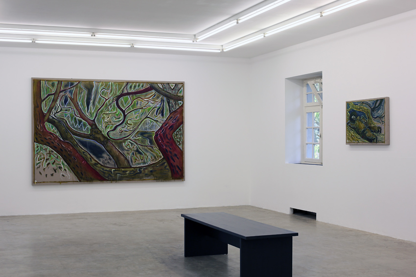 Billy Childish, Neuer Aachener Kunstverein Gallery, 2014