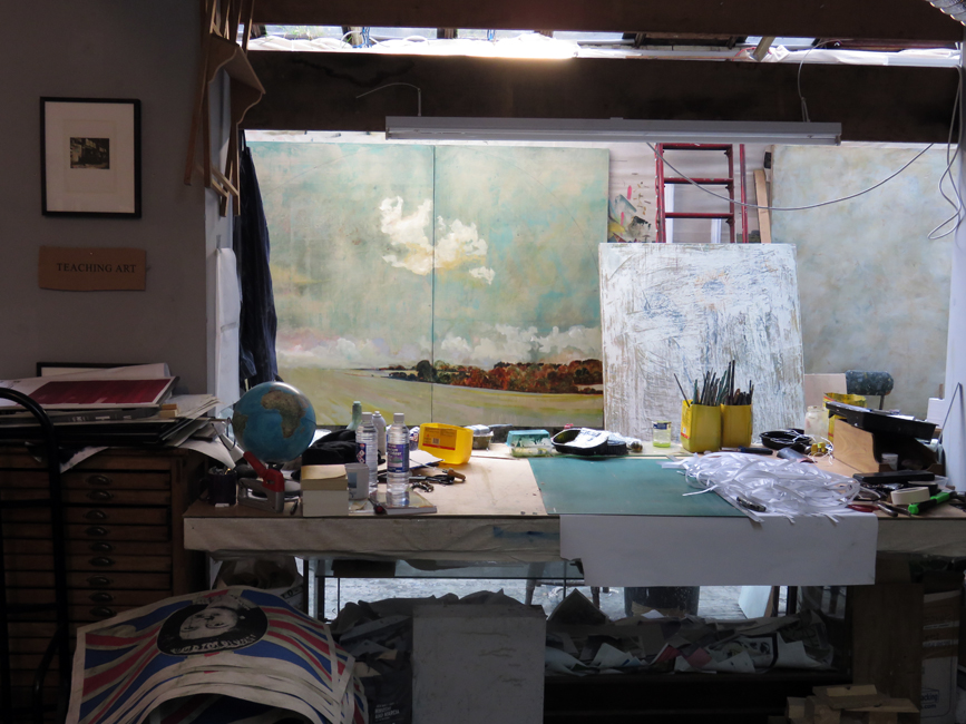 Harry Adams studio, L-13 Light Industrial Workshop, 2016